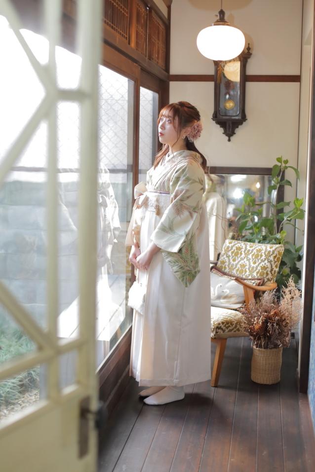 卒業式袴 袴撮影