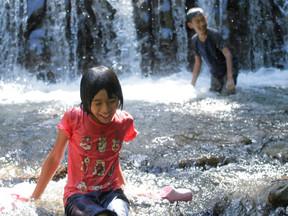 夏の思い出3 川遊び