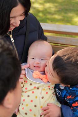 ベビーもうれしい 家族写真 赤ちゃん ベビー出張撮影 えびす