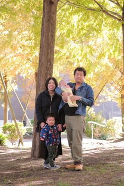 家族写真出張撮影 ロケーションフォト滋賀 素敵な家族