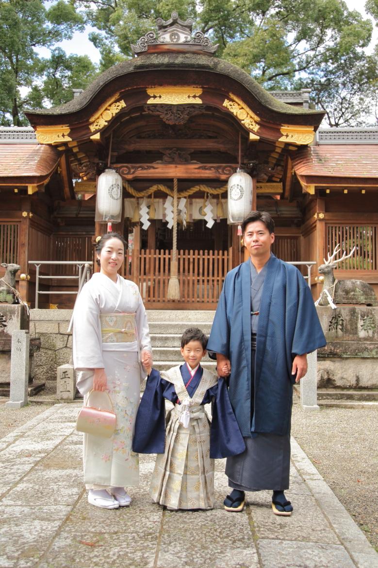 立木神社出張撮影 七五三立木神社 家族写真出張撮影 出張撮影あおぞら