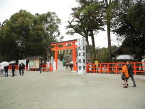 今年の初撮影 上賀茂神社