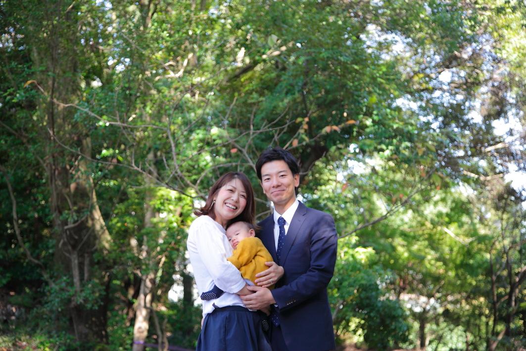 お宮参りロケ撮 滋賀出張撮影 カメラマン撮影 家族写真滋賀