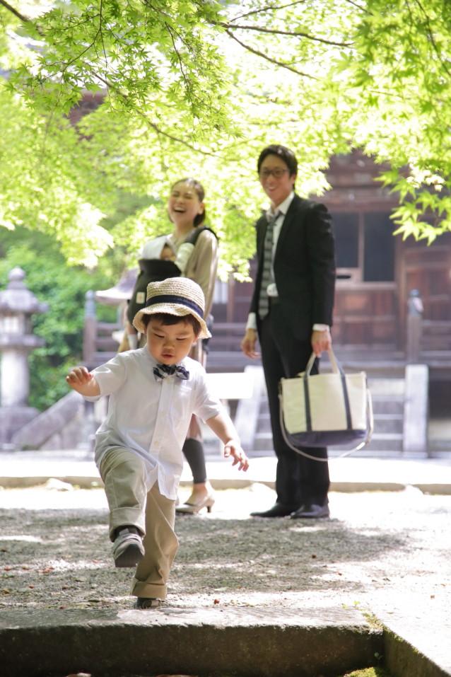 家族写真 ファミリーフォト ロケーション撮影 お宮参り 滋賀