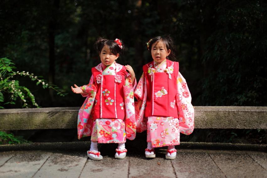 七五三撮影 七五三詣り 蛭子撮影 京都出張撮影 あおぞら