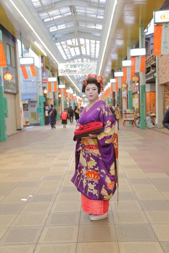 女装家 麻美さん 同行撮影
