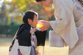 七五三詣りの撮影時季