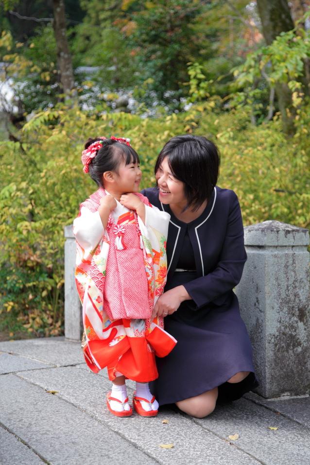 出張撮影京都 七五三撮影 七五三カメラマン フリーカメラマン京都 ファミリーフォ