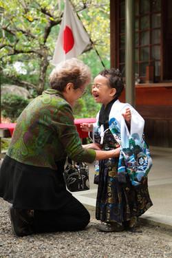 七五三詣り 同行撮影 カメラマン同行撮影 蛭子美和子撮影