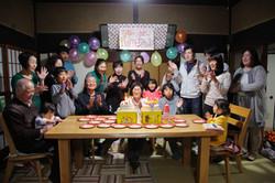 お誕生会撮影 お祝い撮影 家族写真 記念日写真 ファミリーフォト