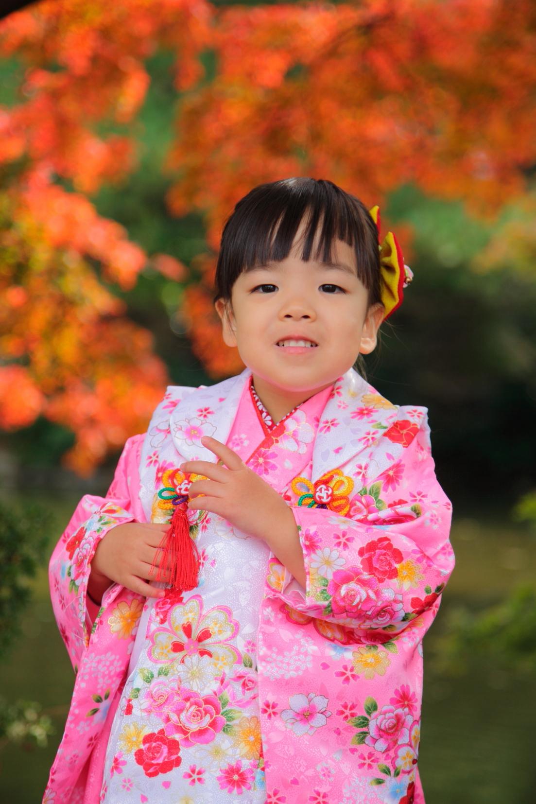 七五三撮影 七五三詣り 七五三女児 出張撮影あおぞら 蛭子美和子撮影