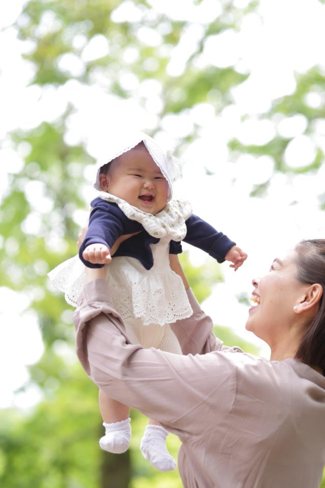 家族写真 親子写真 ベビー撮影 滋賀ロケーション撮影
