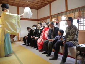ご祈祷中の撮影も可能な神社