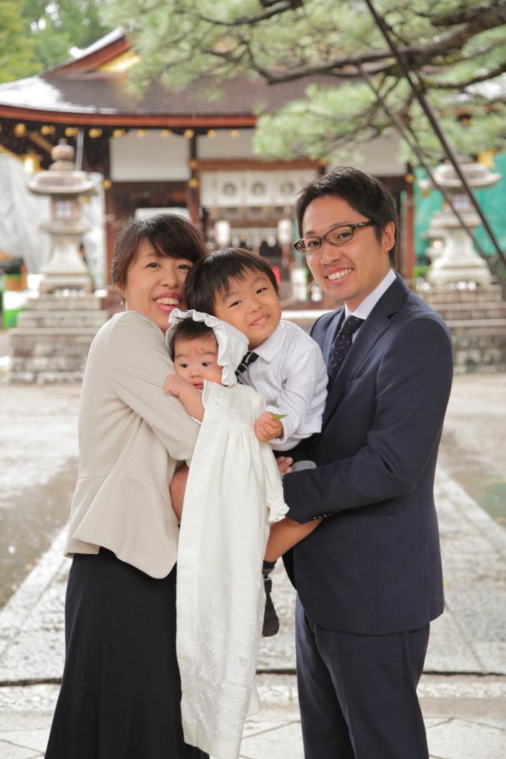 滋賀出張撮影 お宮参り出張撮影 滋賀家族写真