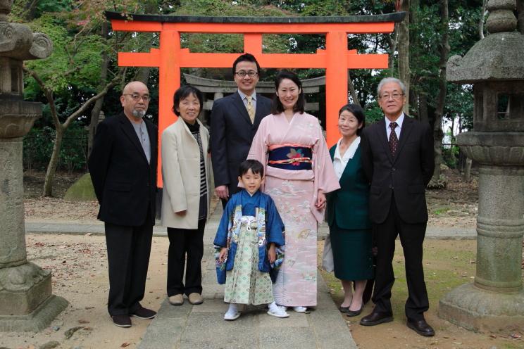 家族写真撮影 記念日撮影 ファミリーフォト 蛭子出張撮影