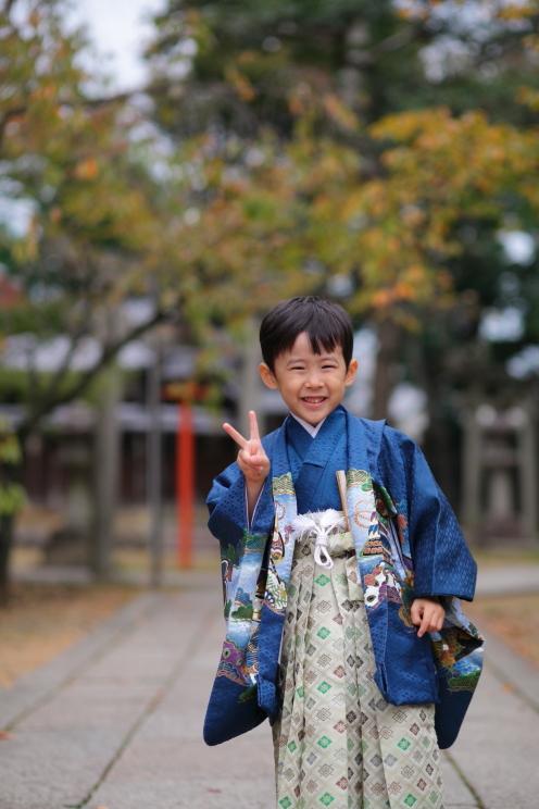 七五三撮影 七五三詣り出張撮影 出張撮影あおぞら 京都滋賀の出張撮影