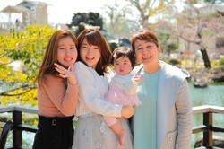 出張撮影あおぞら 女性カメラマンあおぞら 家族の記念写真