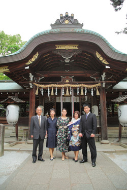 家族写真 記念撮影 京都出張撮影 お祝い撮影