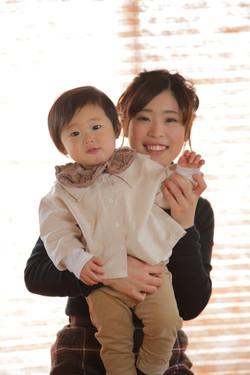 ママとこども 親子写真 親子撮影 大津カメラマン撮影