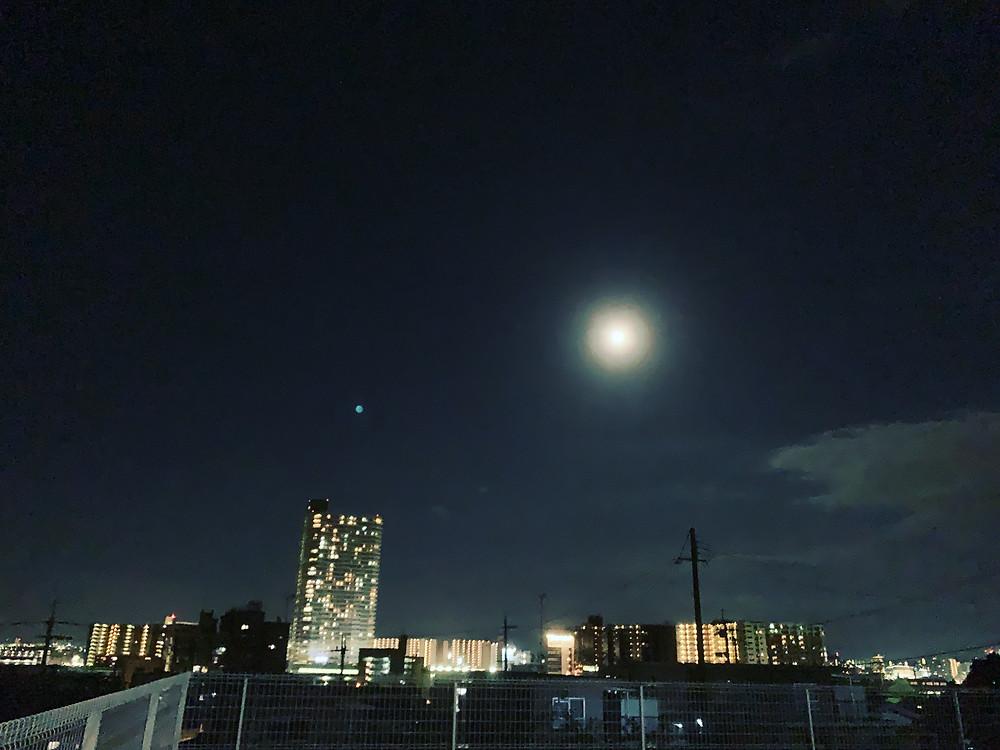 月 moon  名月 中秋の名月
