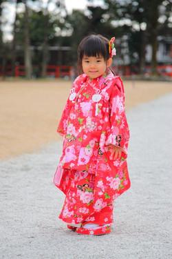 七五三 七五三詣り 七五三撮影 七五三出張撮影京都
