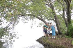 びわ湖 ファミリーフォト 琵琶湖