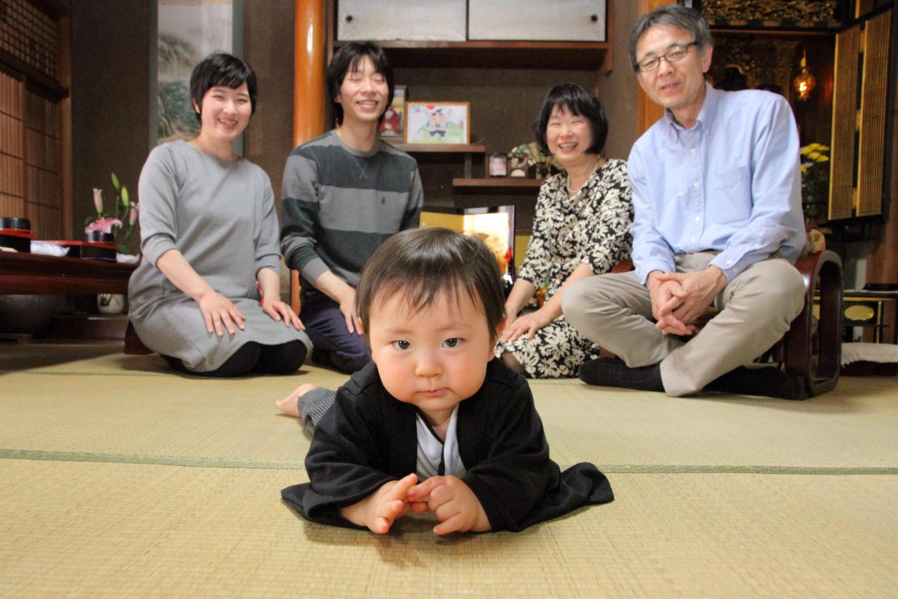 家族写真 こどもの撮影 出張撮影 お祝い撮影