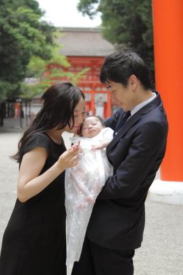 家族写真 記念撮影 ファミリーフォト お宮参り撮影 出張撮影 蛭子美和子撮影