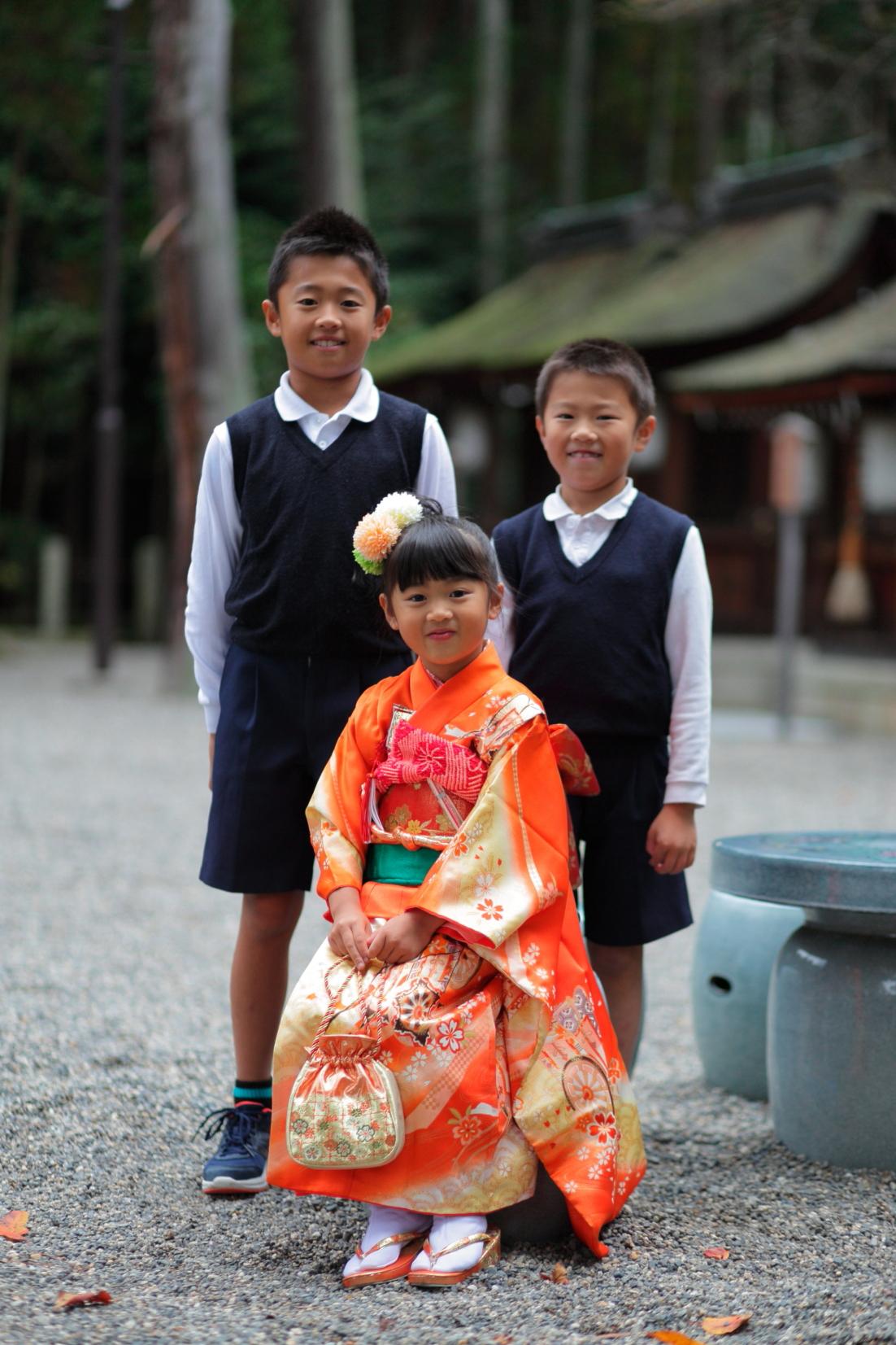 七五三詣り 出張撮影七五三 カメラマンと七五三 蛭子美和子撮影