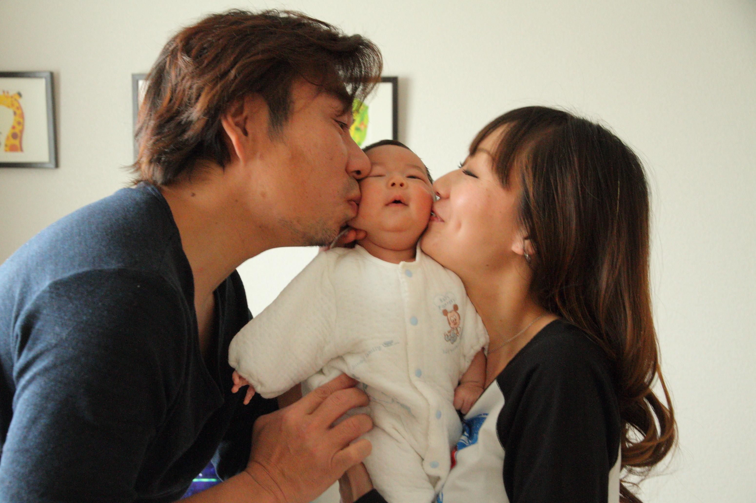 赤ちゃん ベビー 赤ちゃんアルバム 家族の写真 滋賀出張撮影