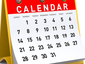 Altered schedule for June/July