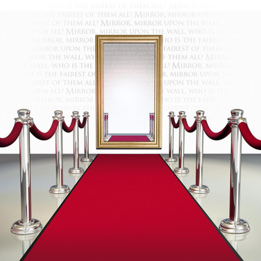 Red Carpet with Mirror