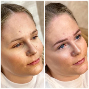 Microblading - Feathering touch