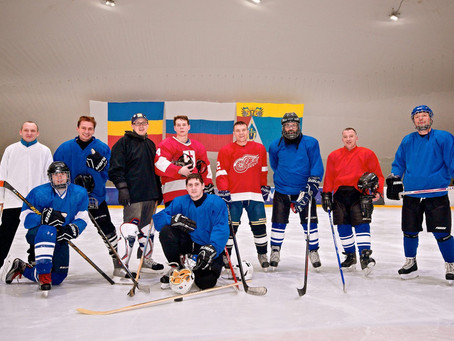 Youth and Adults Join Rabbi and Form JHL (Jewish Hockey League)