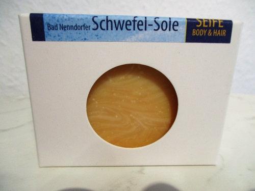 Bad Nenndorfer Schwefel-Sole-Seife BODY&HAIR - palmölfrei
