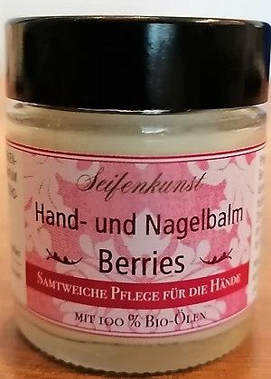 """NEU: Hand-und Nagelbalm """"Berries"""" - im Glastiegel"""