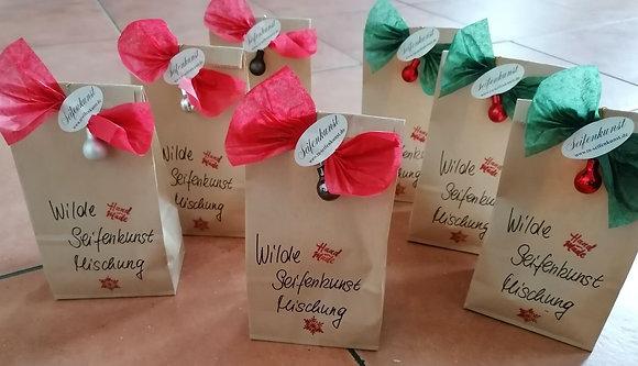 Wilde Seifenkunst Mischung - Weihnachts-Edition