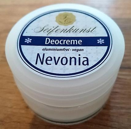 Deocreme Nevonia, vegan- im Glastiegel
