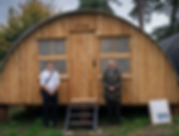 WW1 Nissen Hut opening at Chiltern Open Air Museum