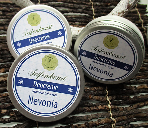 Deocreme Nevonia, vegan