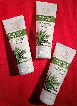 Handcreme Aloe Vera mit Schafmilch - Fa. Florex