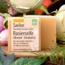 Rasierseife Olivenöl/Sheabutter - vegan und palmölfrei, Fa. Savion
