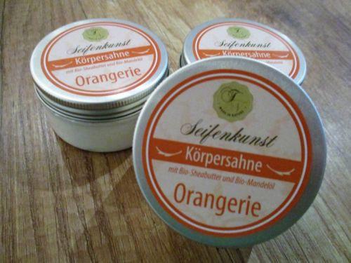 """Körpersahne """"Orangerie"""""""