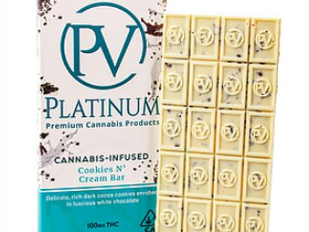 100mg COOKIES N' CREAM BAR - Platinum Vape