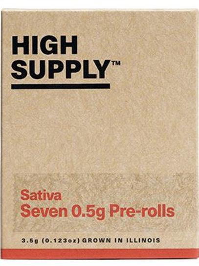 HIGH SUPPLY | Shorties 3.5g (7-pk) | THC 21.27% | Sativa