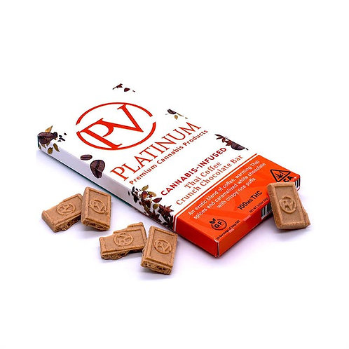 100mg THAI COFFEE CRUNCH BAR - Platinum Vape