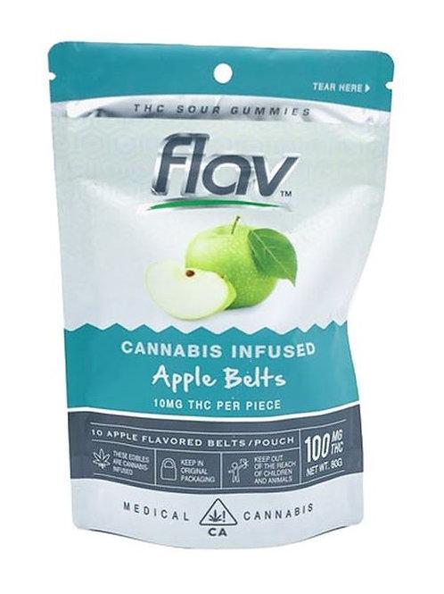 APPLE GUMMY BELTS | FLAV| THC 100mg