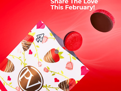 LOVE BITES(Strawberry Gummies Dipped in Chocolate) I PLATINUM VAPE I LIMITED