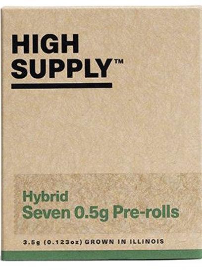 HIGH SUPPLY | Shorties 3.5g (7-pk) | THC 21.6% | Hybrid