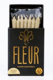 FLUER 7 PACK OF PREROLLS I CHERRY CHEESE CAKE I THC 18% I SATIVA